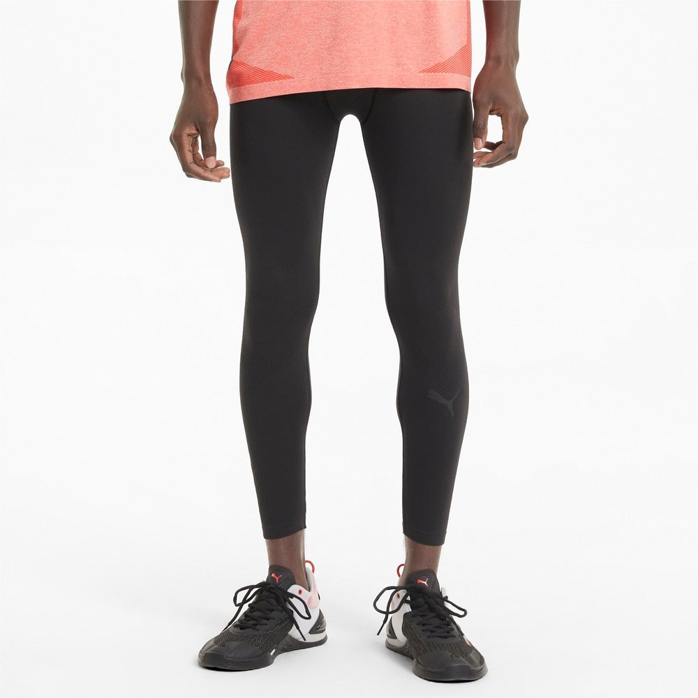Изображение Puma Леггинсы Seamless Bodywear Men's Long Training Tights #1