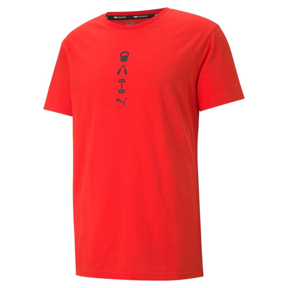 Görüntü Puma PERFORMANCE GRAPHIC Erkek Antrenman T-shirt #1