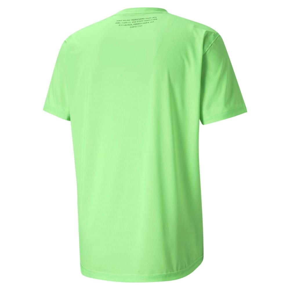 Зображення Puma Футболка PUMA x FIRST MILE Short Sleeve Men's Training Tee #2: Elektro Green