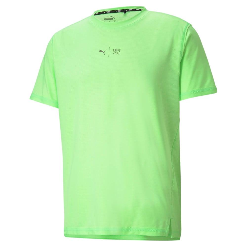 Зображення Puma Футболка PUMA x FIRST MILE Short Sleeve Men's Training Tee #1: Elektro Green