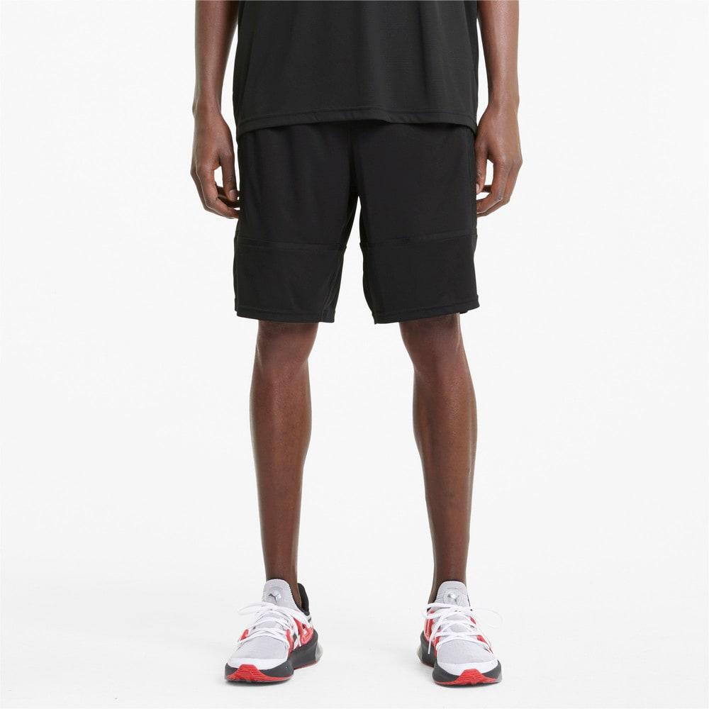 "Изображение Puma Шорты Graphic Knit 9"" Men's Training Shorts #1: Puma Black"