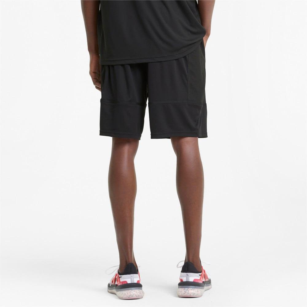 "Изображение Puma Шорты Graphic Knit 9"" Men's Training Shorts #2: Puma Black"