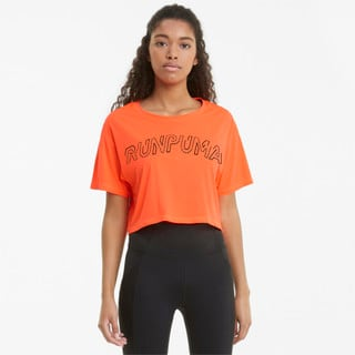 Изображение Puma Футболка Logo Short Sleeve Women's Running Tee
