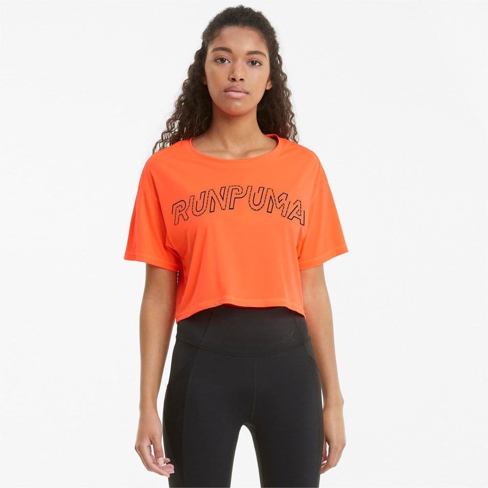 Зображення Puma Футболка Logo Short Sleeve Women's Running Tee #1