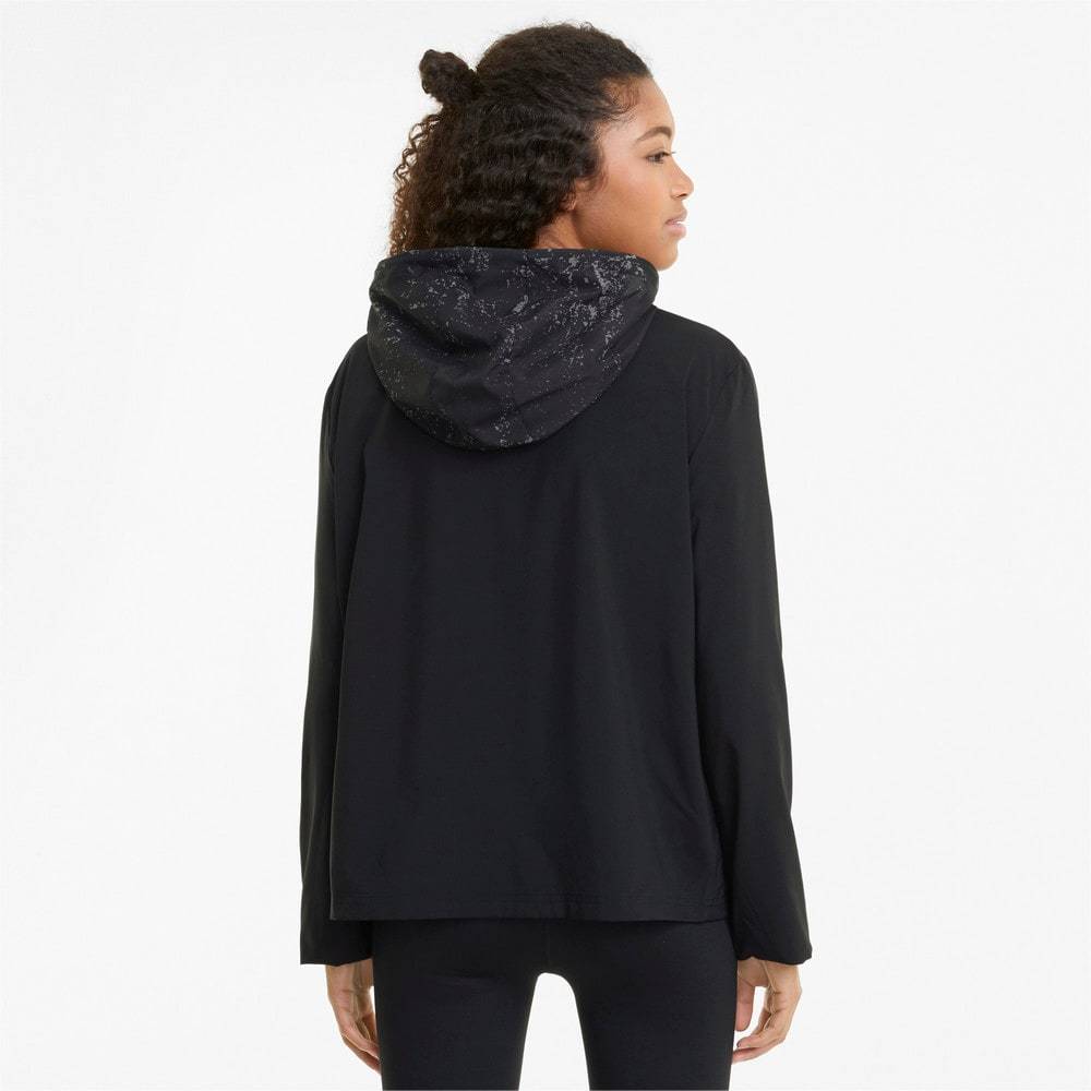 Изображение Puma Куртка Graphic Hooded Women's Running Jacket #2