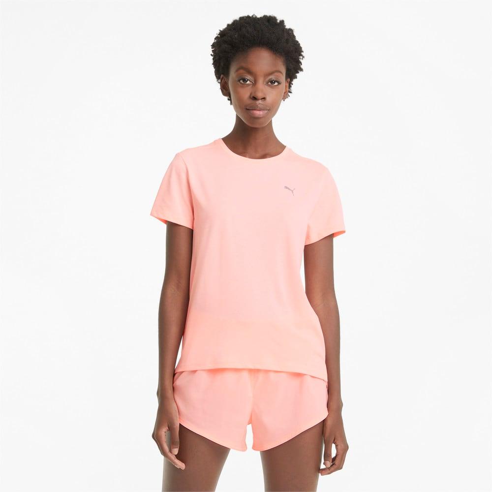 Image Puma Favourite Heather Short Sleeve Women's Running Tee #1