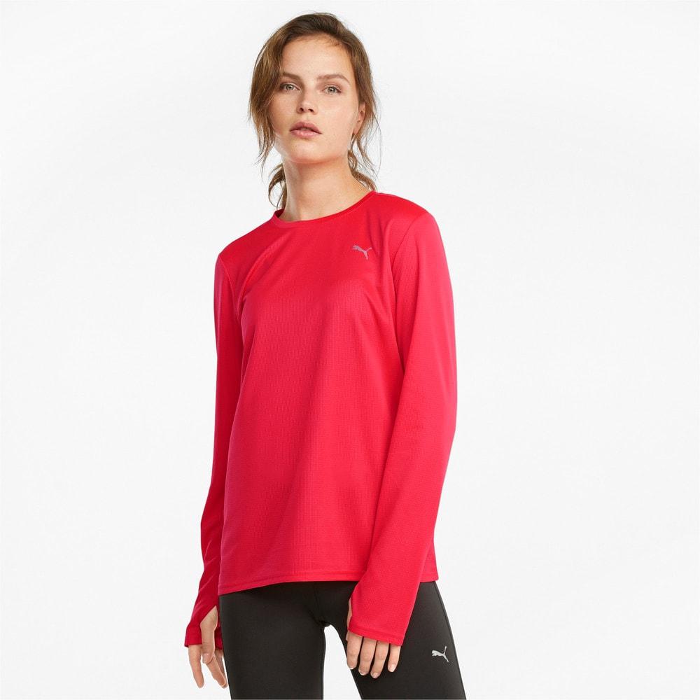 Изображение Puma Футболка с длинным рукавом Favourite Long Sleeve Women's Running Tee #1