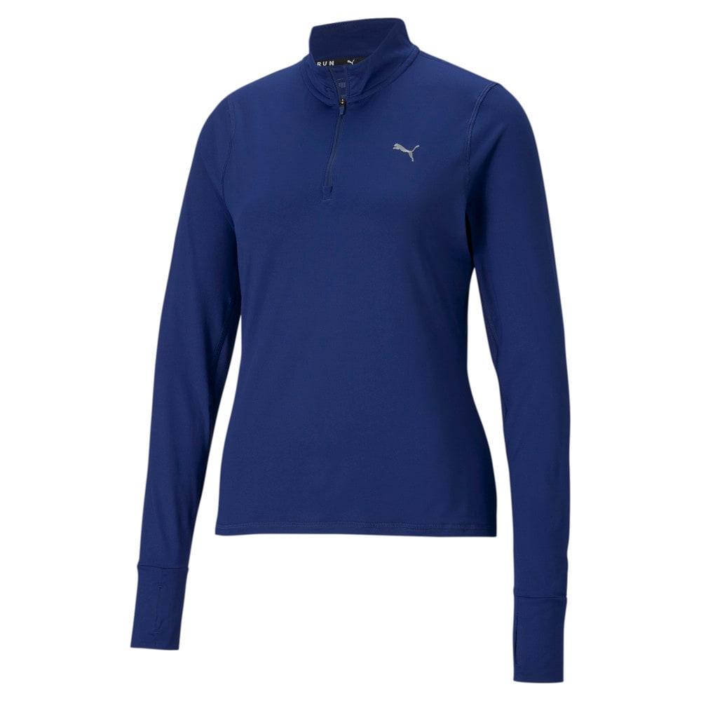 Изображение Puma Олимпийка Favourite Quarter-Zip Women's Running Pullover #1