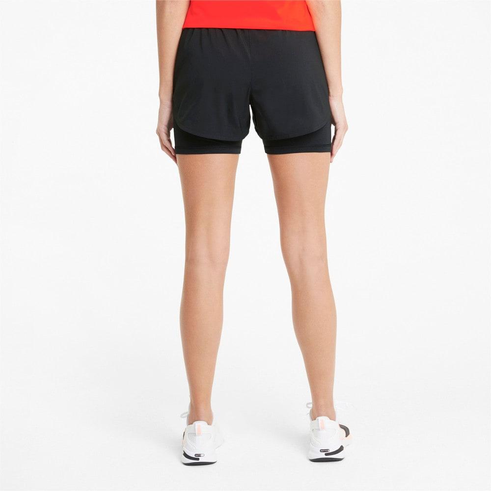 Imagen PUMA Shorts de running 2 en 1 de 8 cm para mujer Favourite #2