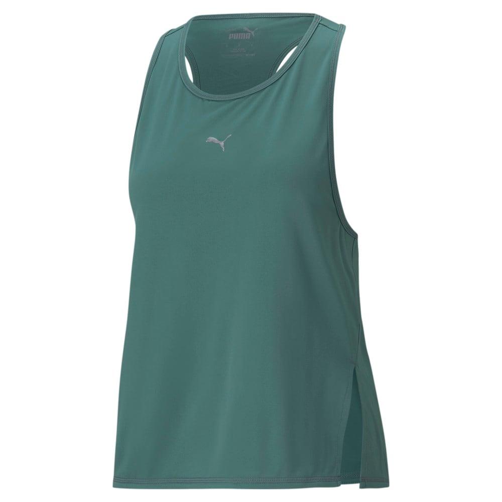 Изображение Puma Майка COOLadapt Women's Running Tank Top #1: Blue Spruce