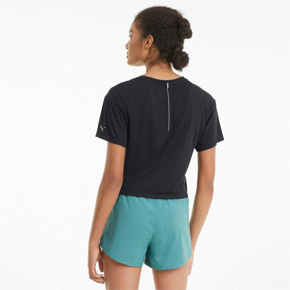 Изображение Puma Футболка COOLadapt Women's Skimmer Running Tee #2: Puma Black