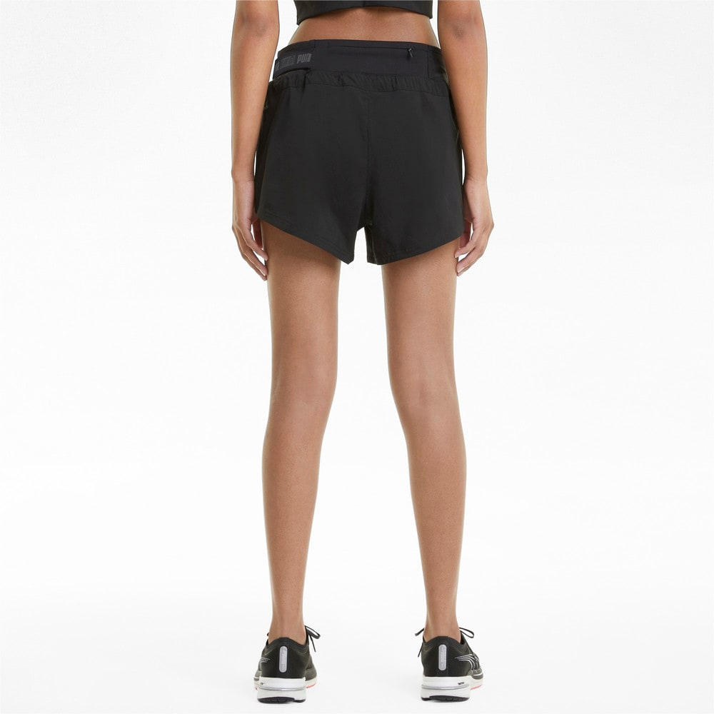 """Изображение Puma Шорты COOLadapt Woven 3"""" Women's Running Shorts #2"""