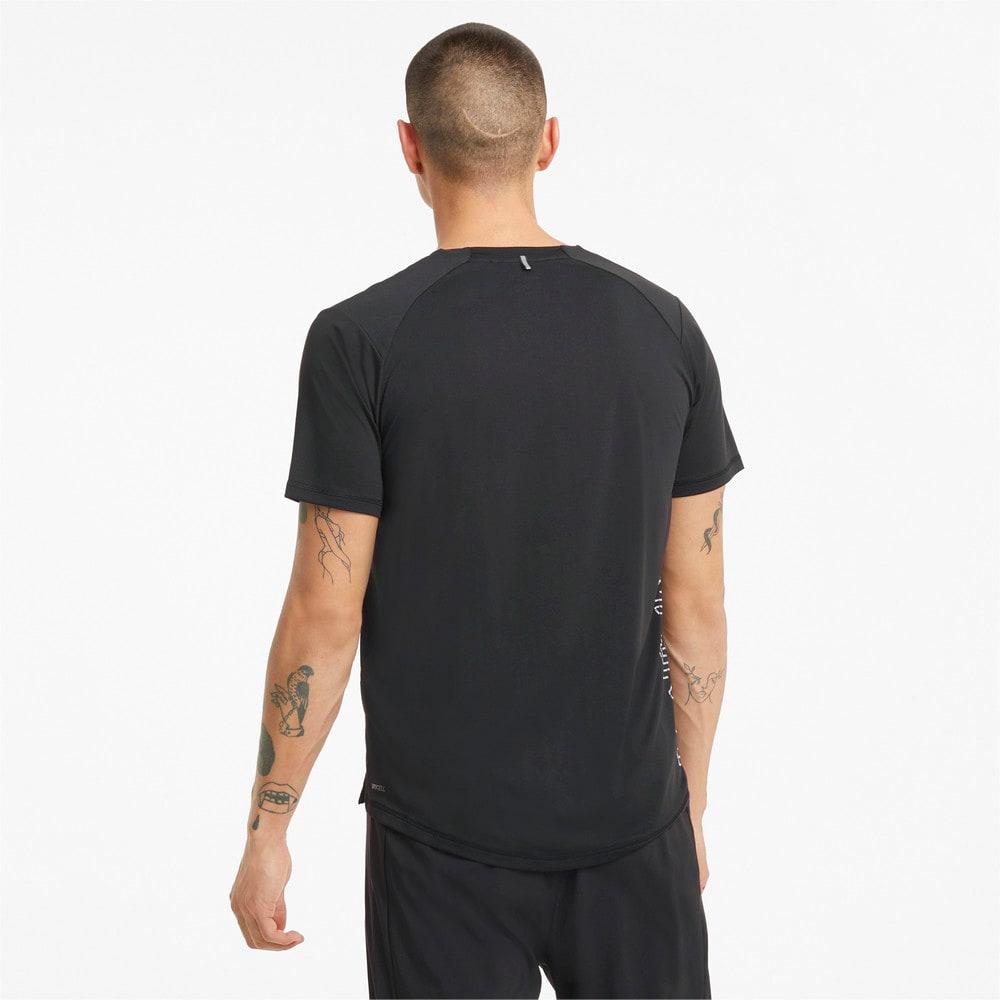 Изображение Puma Футболка COOLadapt Short Sleeve Men's Running Tee #2: Puma Black