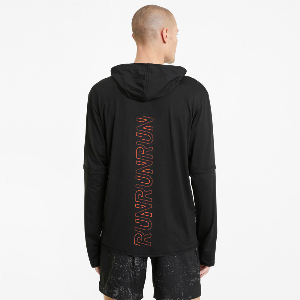 Изображение Puma Толстовка Hooded Men's Running Mid-Layer #2