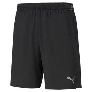 Imagen PUMA Shorts de running de tejido plano de 18 cm para hombre