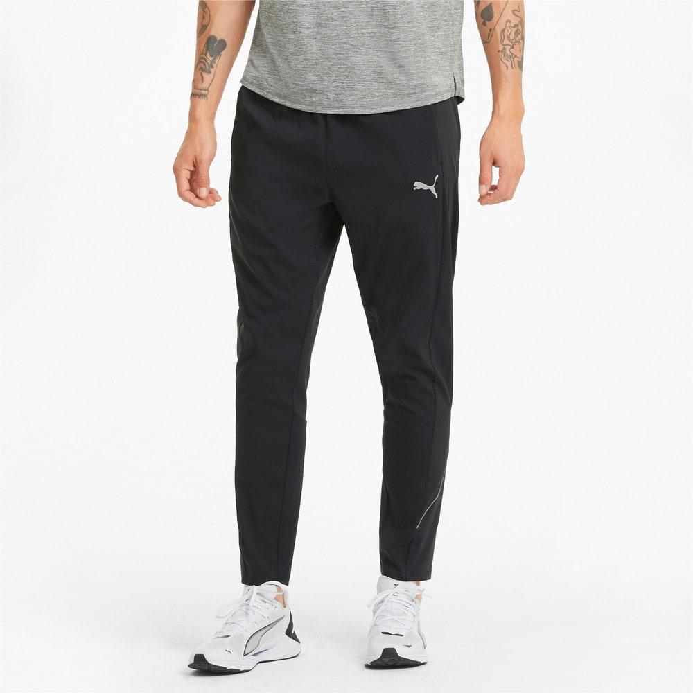 Изображение Puma Штаны Woven Tapered Men's Running Pants #1