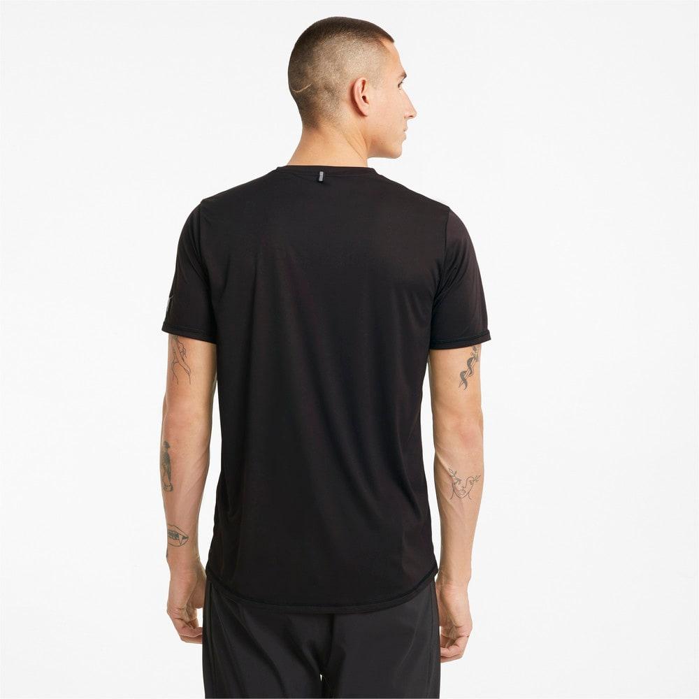 Изображение Puma Футболка Logo Short Sleeve Men's Running Tee #2: Puma Black
