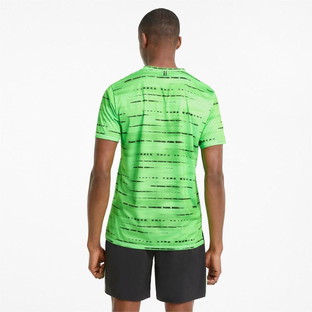 Зображення Puma Футболка Graphic Short Sleeve Men's Running Tee #2: Elektro Green
