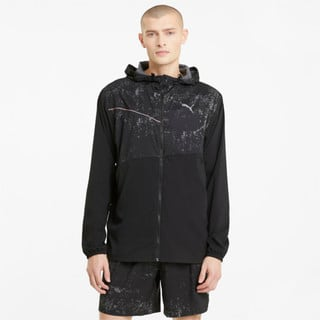 Изображение Puma Куртка Graphic Hooded Men's Running Jacket