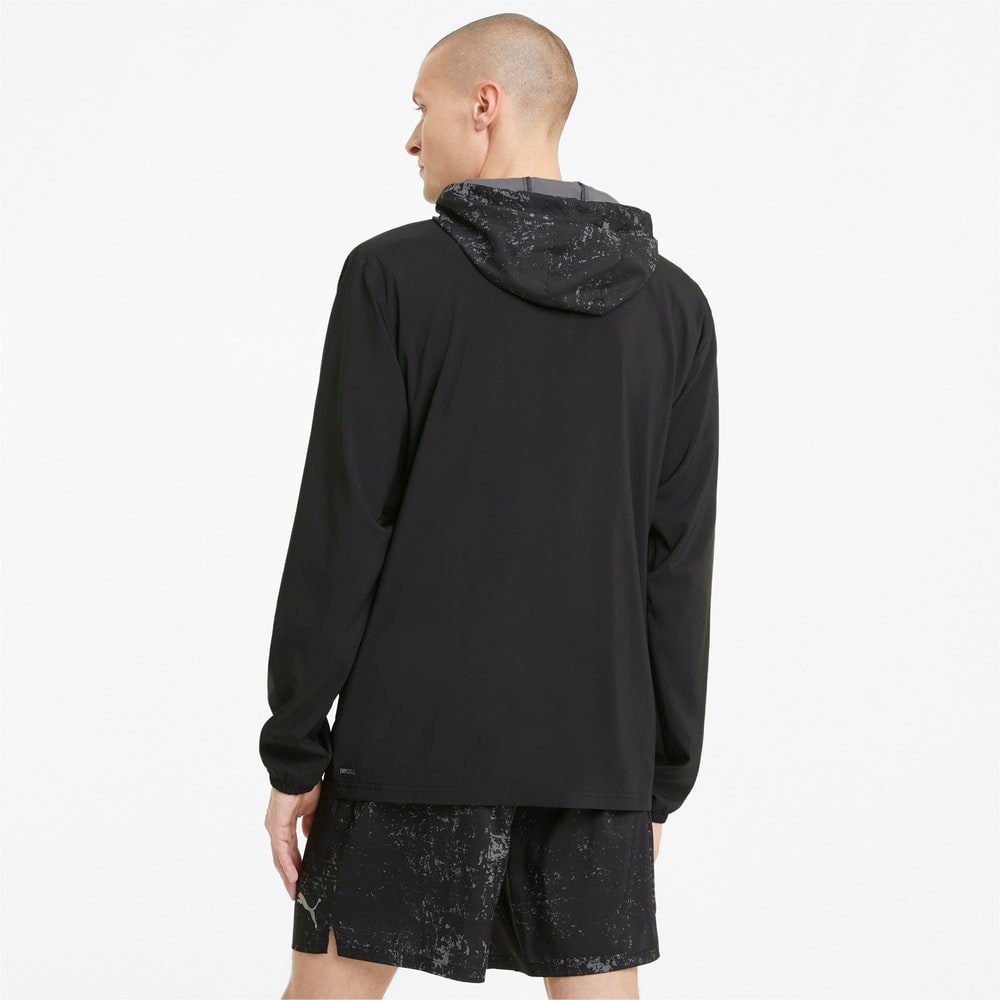 Изображение Puma Куртка Graphic Hooded Men's Running Jacket #2