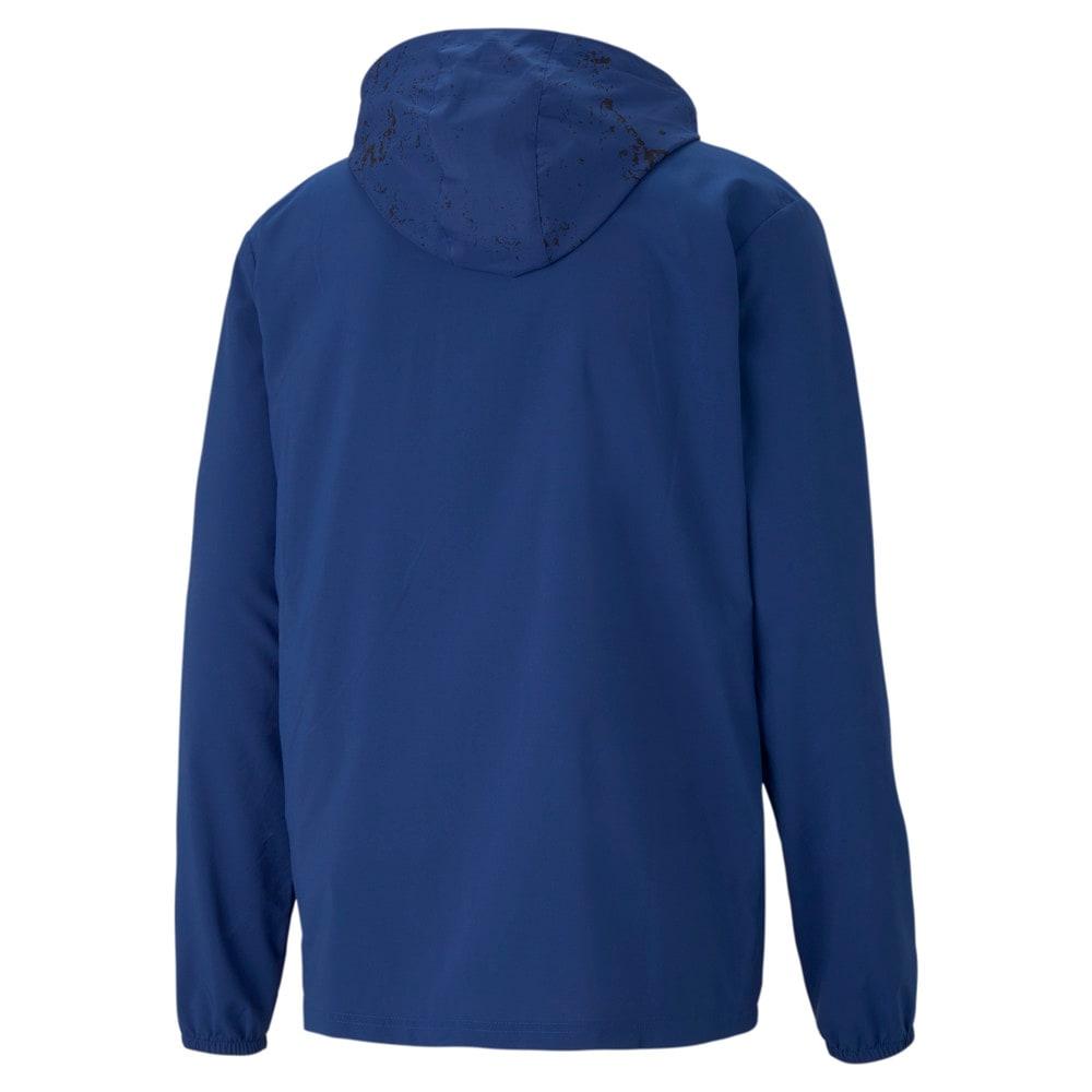 Изображение Puma Куртка Graphic Hooded Men's Running Jacket #2
