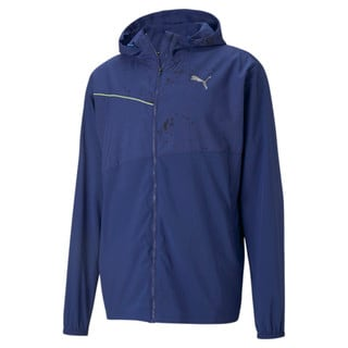 Изображение Puma Куртка Graphic Hooded Men's Running Jacket