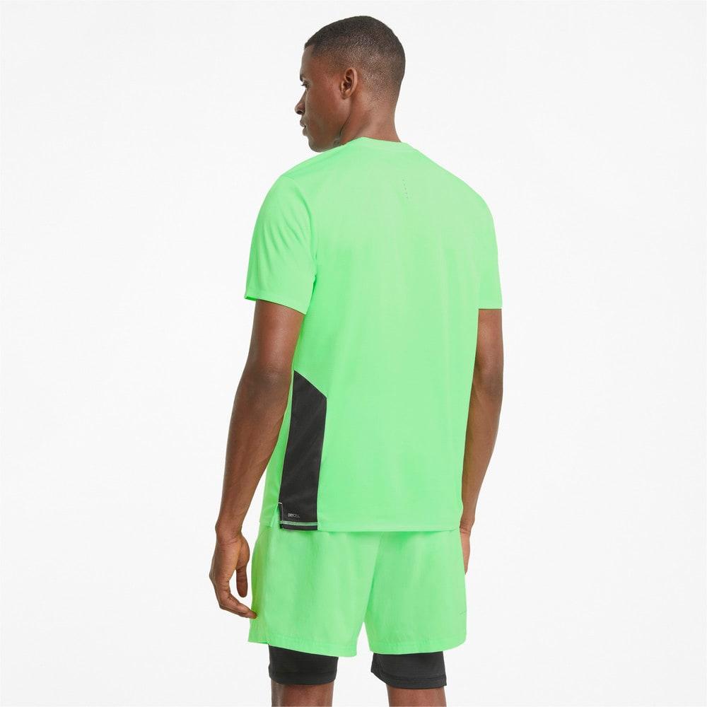 Изображение Puma Футболка Favourite Short Sleeve Men's Running Tee #2: Elektro Green-Puma Black