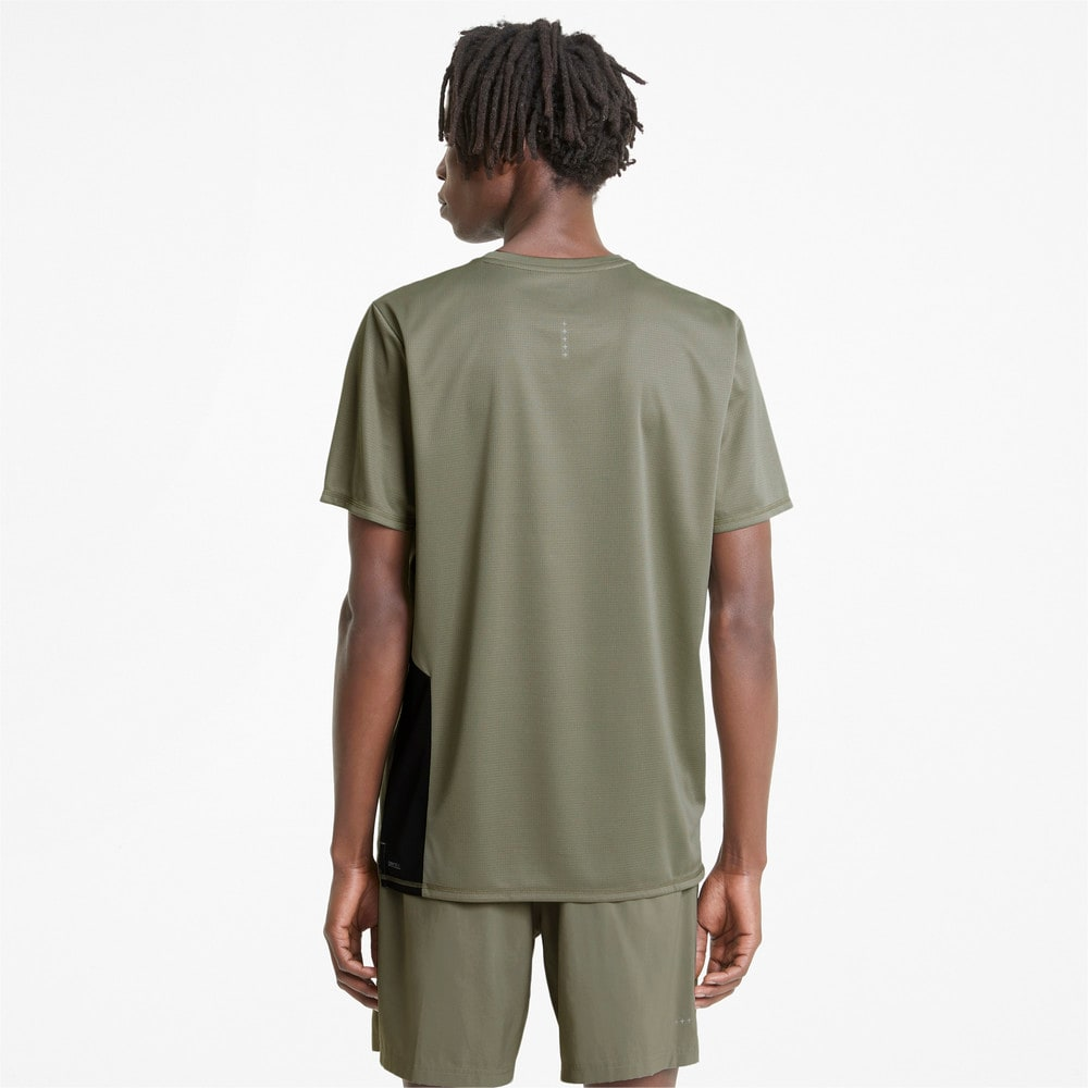 Изображение Puma Футболка Favourite Short Sleeve Men's Running Tee #2: Vetiver-Puma Black
