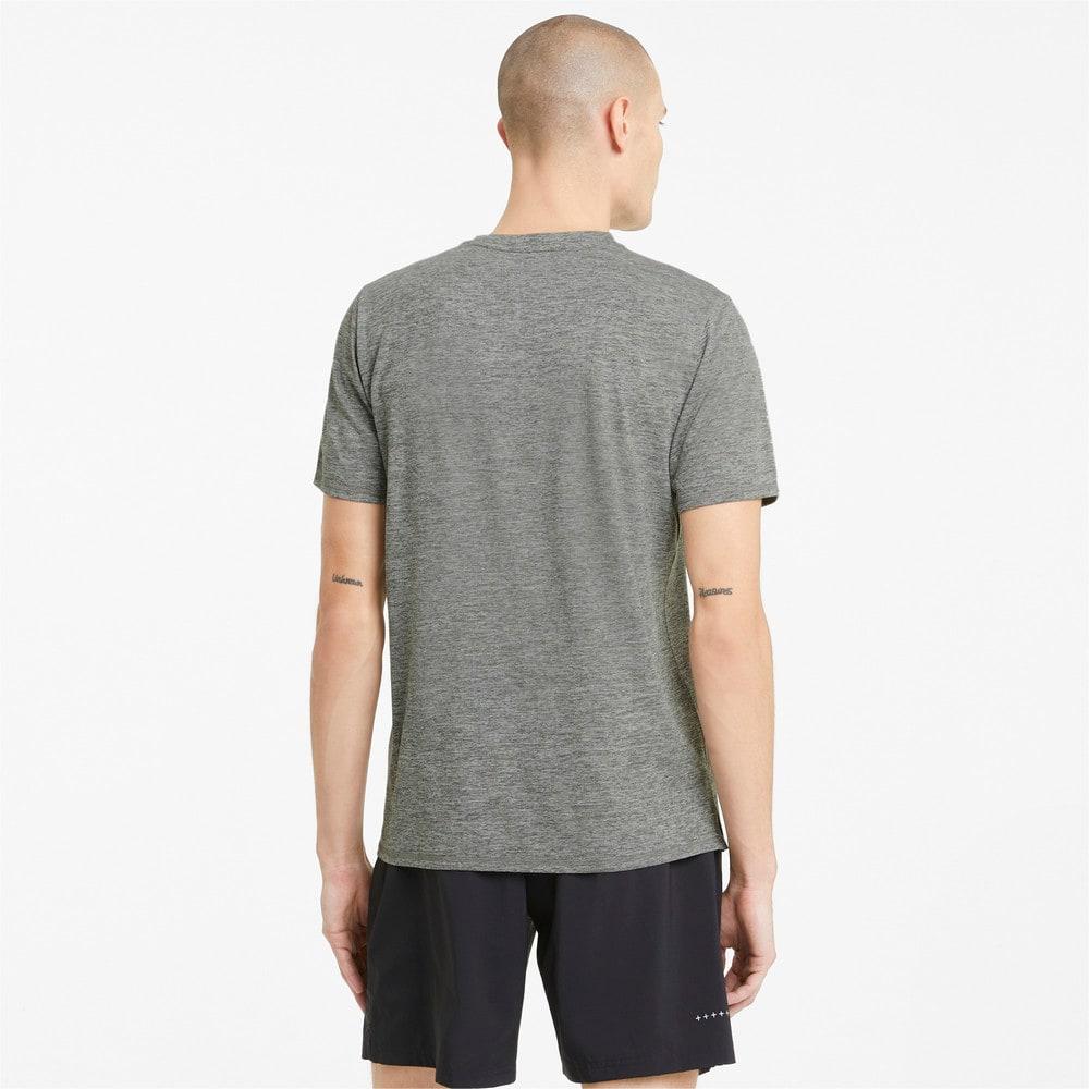 Image Puma Favourite Heather Short Sleeve Men's Running Tee #2