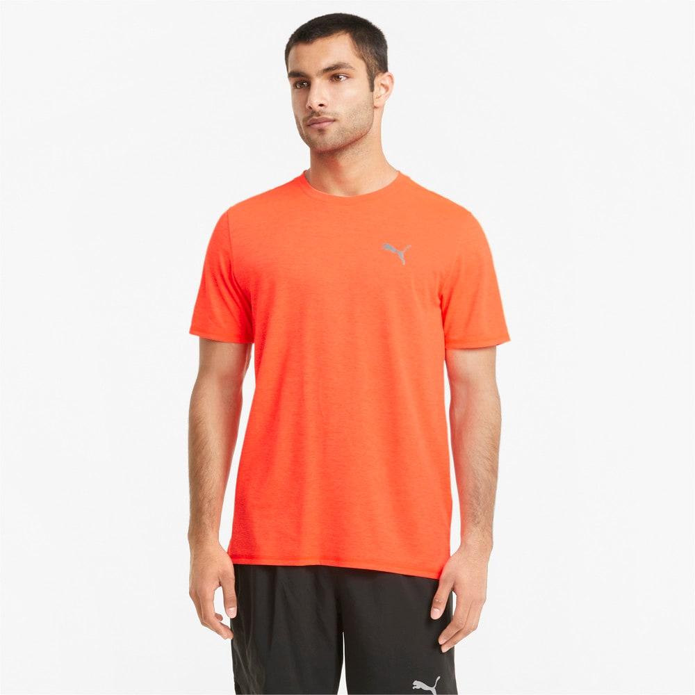 Görüntü Puma FAVOURITE Heather Kısa Kollu Erkek Koşu T-shirt #1