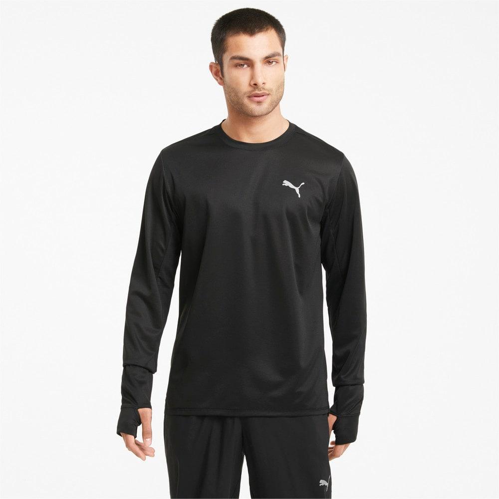 Изображение Puma Футболка с длинным рукавом Favourite Long Sleeve Men's Running Tee #1