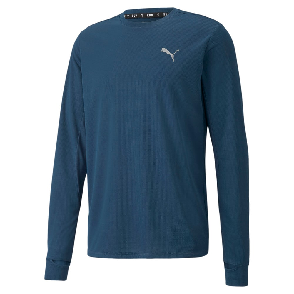 Зображення Puma футболка з довгим рукавом Favourite Long Sleeve Men's Running Tee #1: Intense Blue