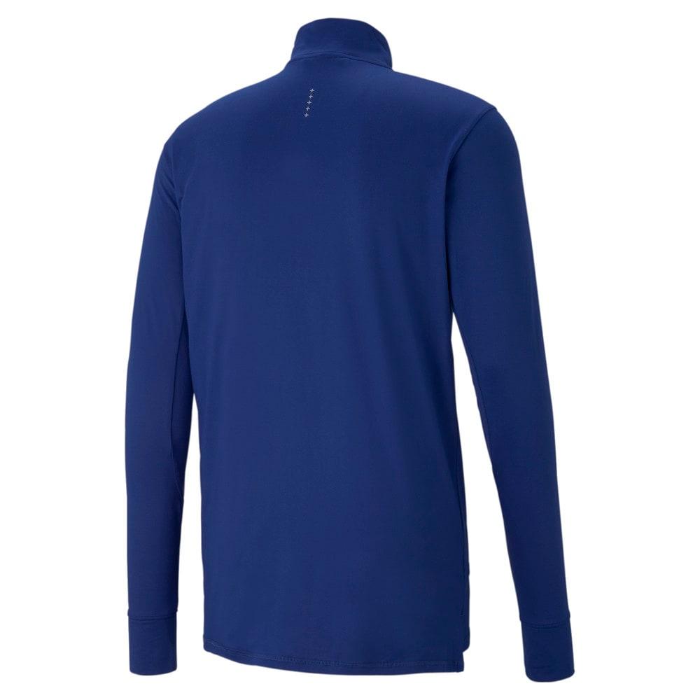 Изображение Puma Футболка с длинным рукавом Favourite Quarter-Zip Men's Running Tee #2