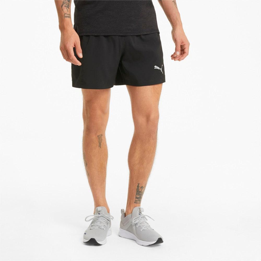 Imagen PUMA Shorts de running de tejido plano y entrepierna de 13 cm para hombre Favourite Session #1
