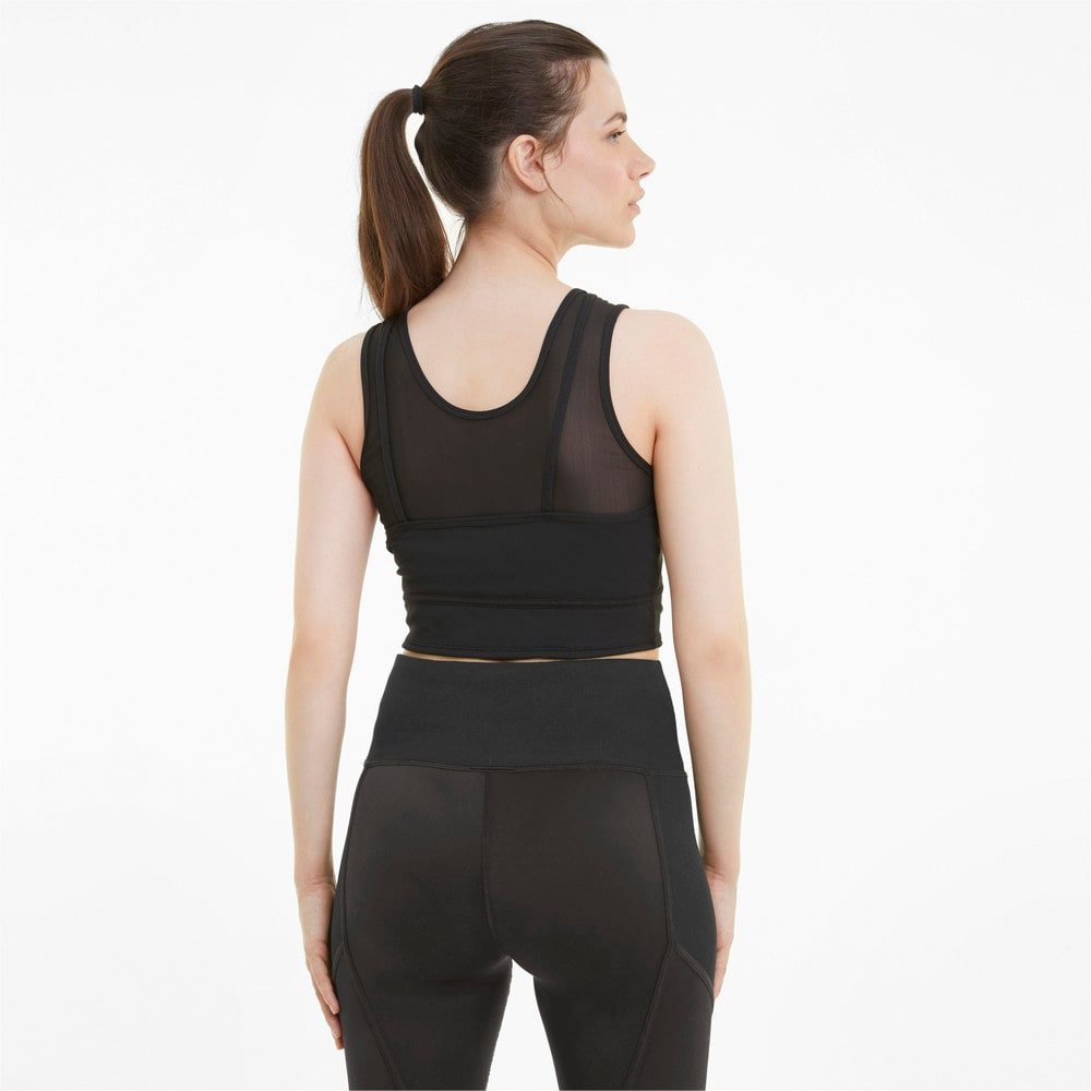 Зображення Puma Топ Studio Layered Women's Training Crop Top #2