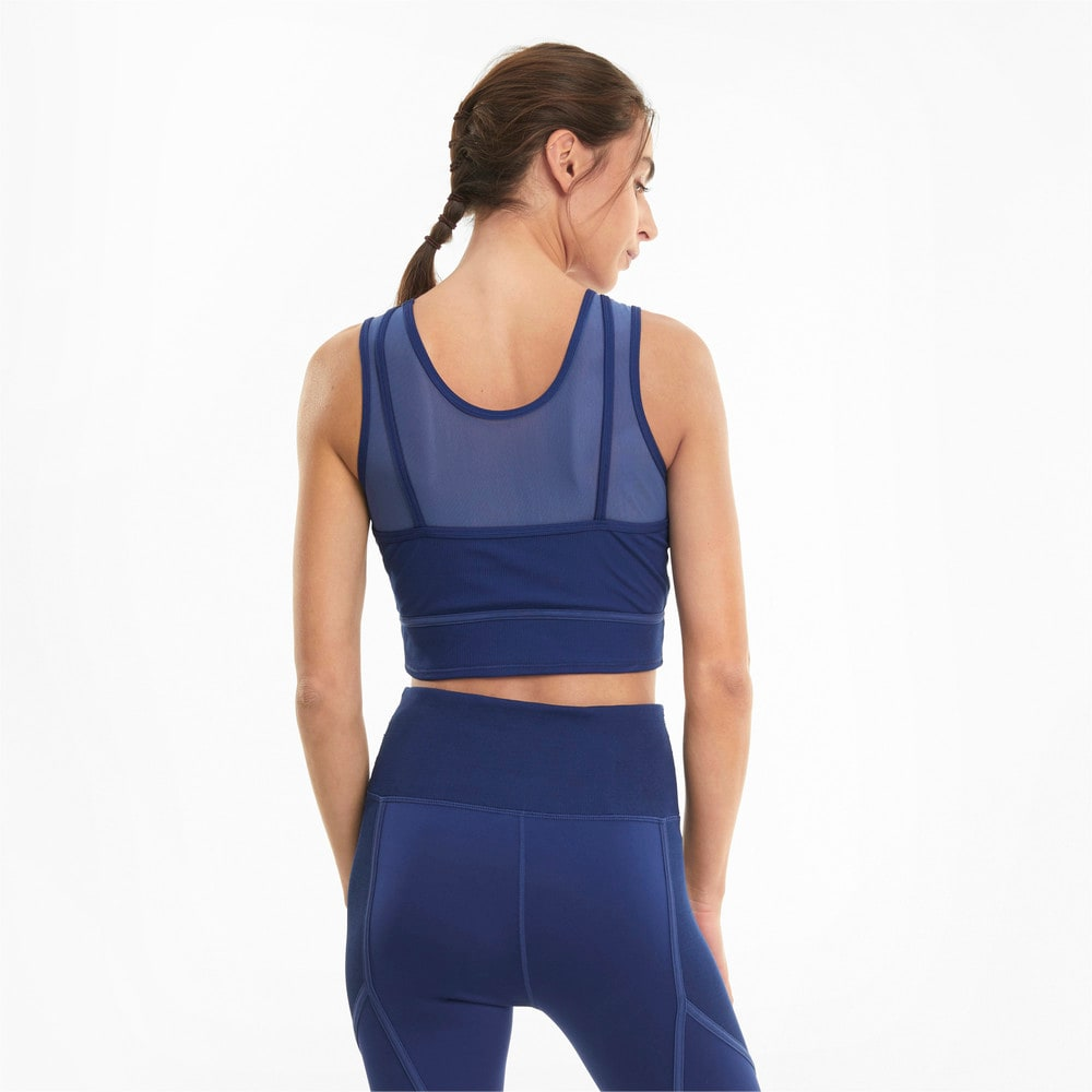 Изображение Puma Топ Studio Layered Women's Training Crop Top #2