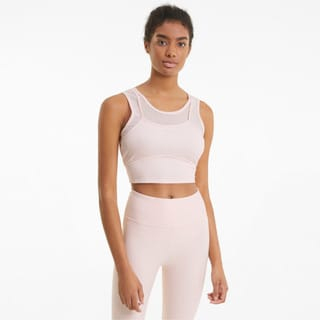 Изображение Puma Топ Studio Layered Women's Training Crop Top