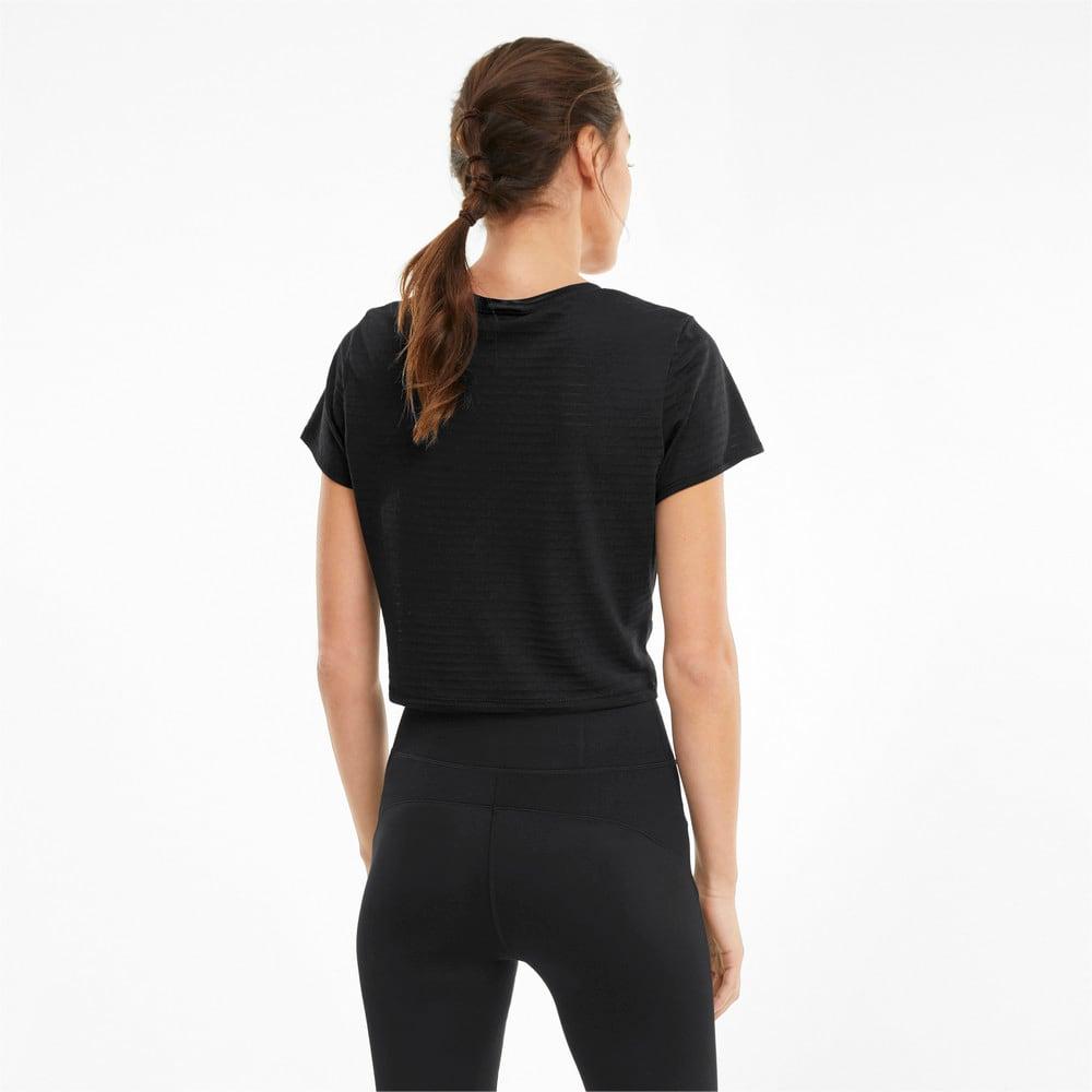 Image PUMA Camiseta Studio Twist Burnout Training Feminina #2