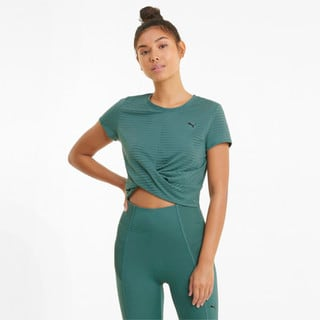 Изображение Puma Футболка Studio Twist Burnout Women's Training Tee