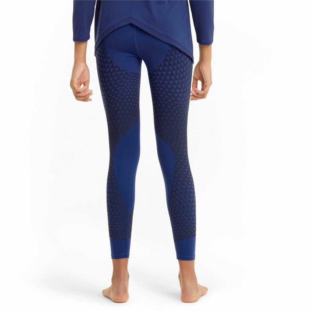 Изображение Puma Леггинсы Studio Porcelain Full-Length Women's Training Leggings #2: Elektro Blue-print