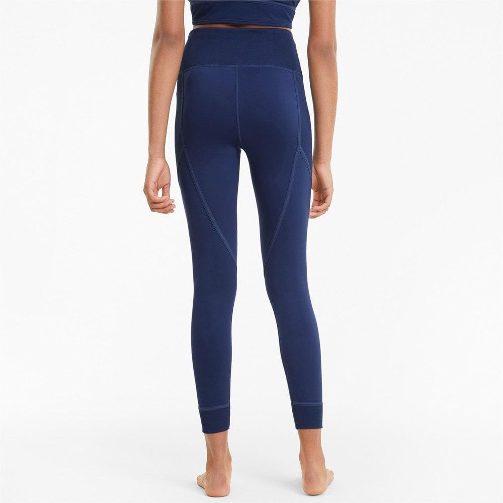 Imagen PUMA Leggings de training de largo 7/8 con cintura alta para mujer Studio Ribbed #2
