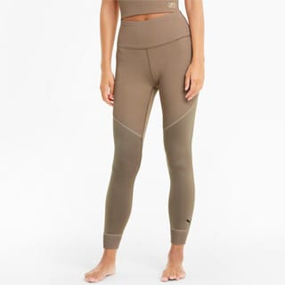 Изображение Puma Леггинсы Studio Ribbed High Waist 7/8 Women's Training Leggings