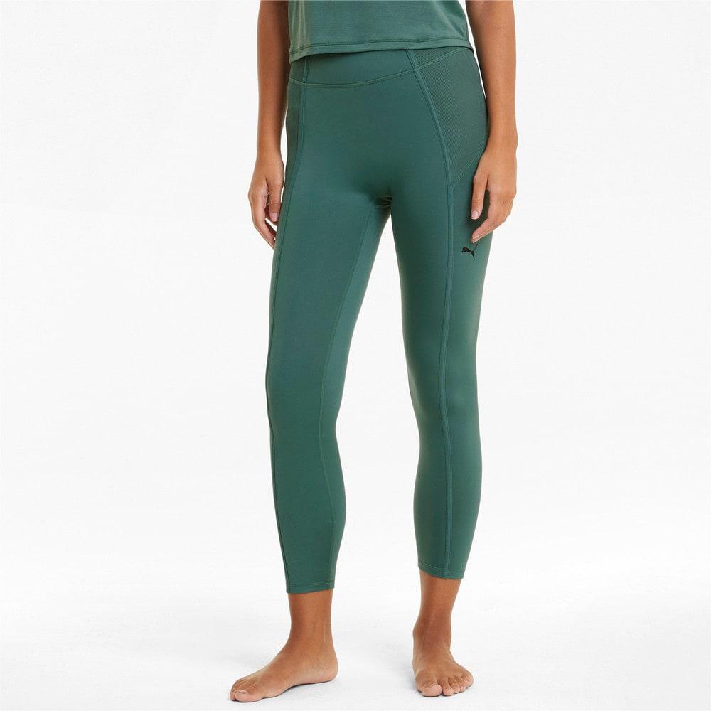 Зображення Puma Легінси Studio Side Ribbed High Waist 7/8 Women's Training Leggings #1
