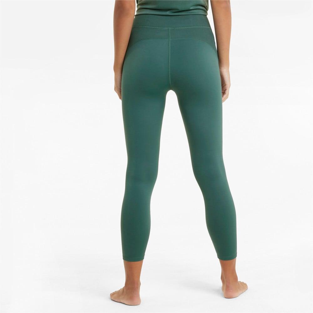Изображение Puma Леггинсы Studio Side Ribbed High Waist 7/8 Women's Training Leggings #2