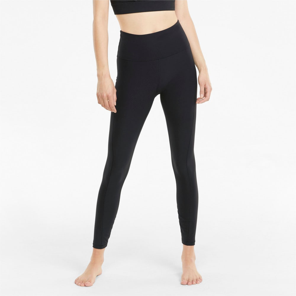 Зображення Puma Легінси Studio Yogini Luxe High Waist 7/8 Women's Training Leggings #1: Puma Black