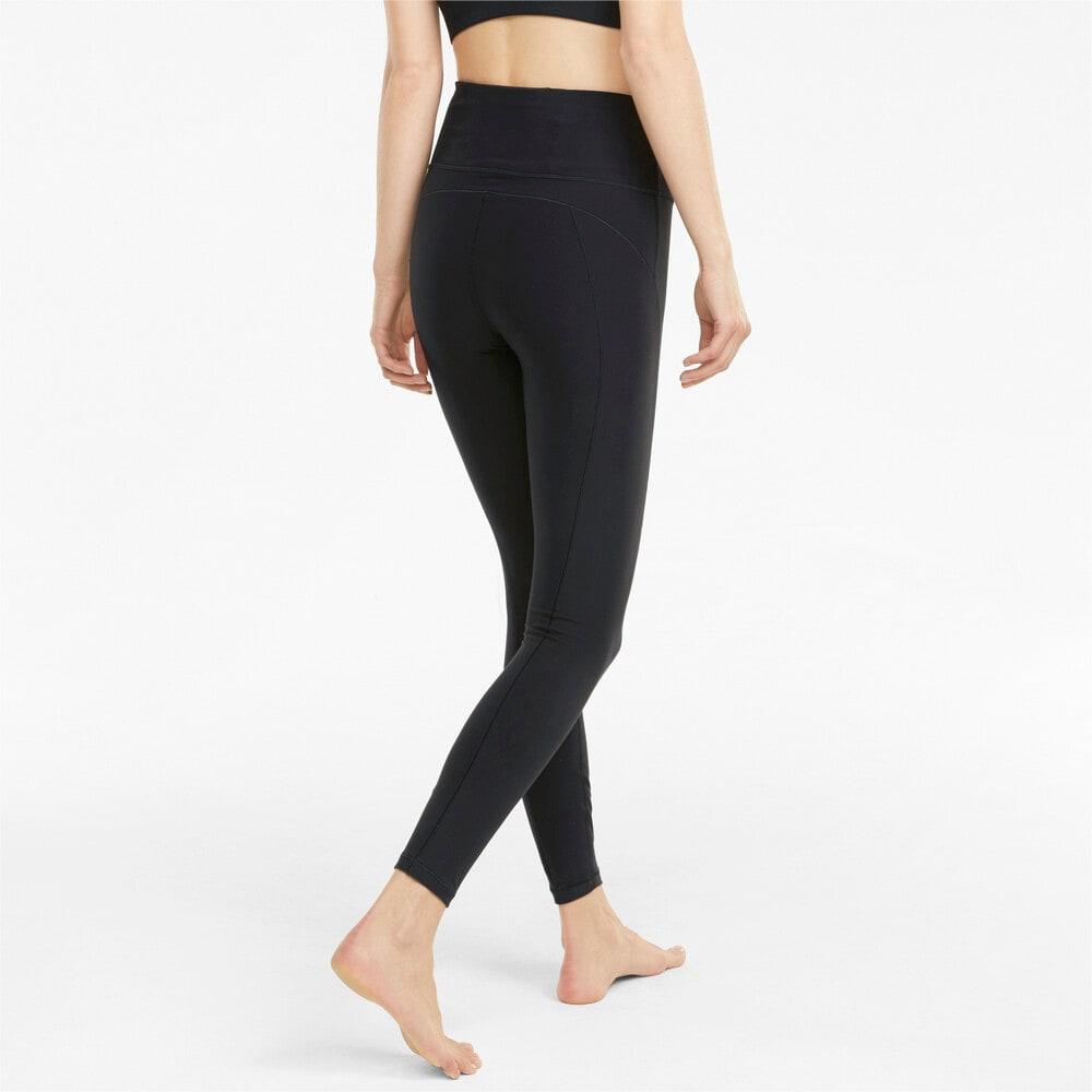 Зображення Puma Легінси Studio Yogini Luxe High Waist 7/8 Women's Training Leggings #2: Puma Black
