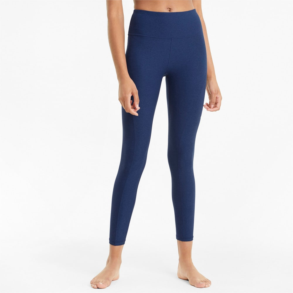 Изображение Puma Леггинсы Studio Yogini Luxe High Waist 7/8 Women's Training Leggings #1