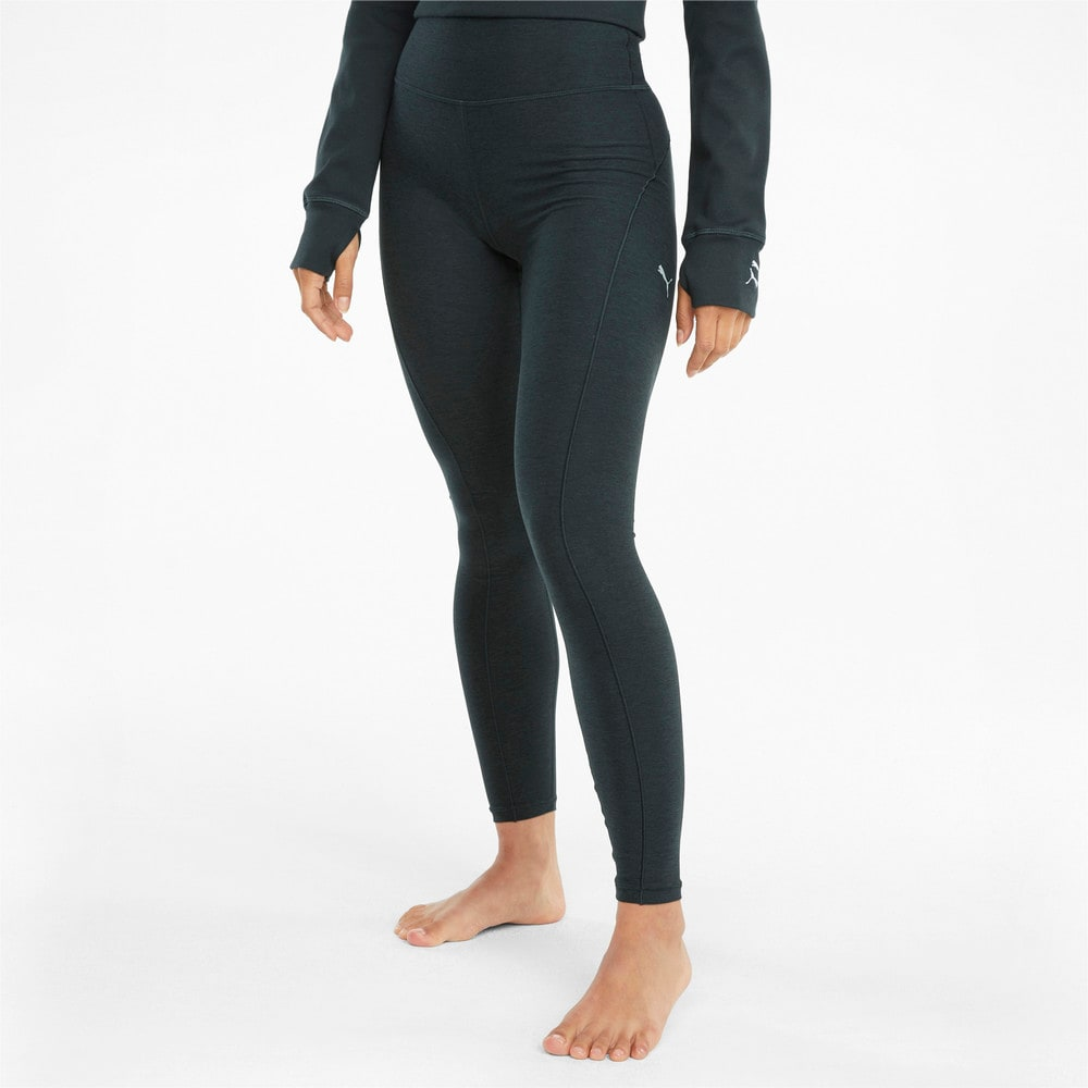 Изображение Puma Леггинсы Studio Yogini Luxe High Waist 7/8 Women's Training Leggings #1