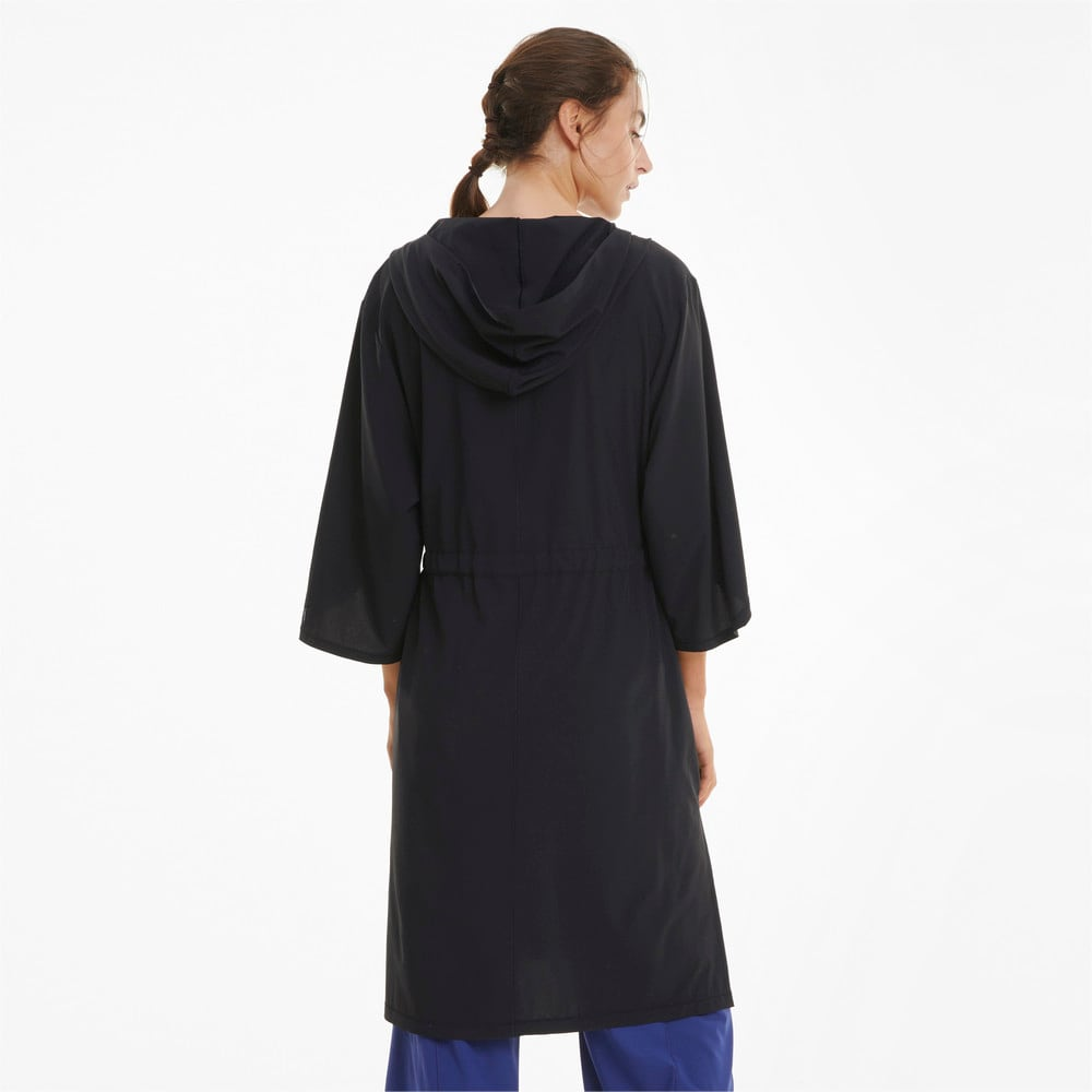 Изображение Puma Кимоно Studio Woven Flow Women's Training Jacket #2
