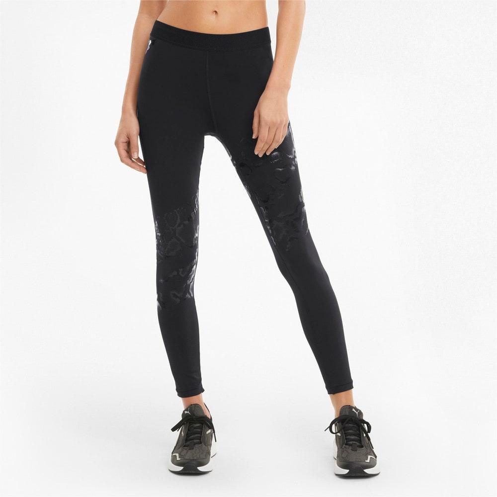 Изображение Puma Леггинсы UNTMD Printed Women's Training Leggings #1